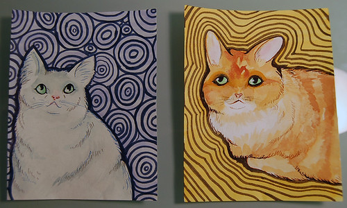 Kitty Portraits by Amy C!