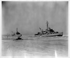 The USS Burton Island (AG-88) and The USS Edisto (AG-89) in Antarctica (Smithsonian Institution) Tags: ship antartica usnavy usn icebreaker uscg smithsonianinstitution unitedstatesnavy uscoastguard unitedstatescoastguard agb2 smithsonianinstitutionarchives ussedistoag89 ag89 ussedisto ussedistoagb2 uscgcedistowagb284 uscgcedisto wagb284 operationwindmill ussburtonislandag88 ussburtonisland ag88 uscgcburtonislandwagb283 uscgcburtonisland wagb283 windclass ussburtonislandagb1 agb1