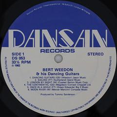 BERT WEEDON & his Dancing Guitars (Leo Reynolds) Tags: canon eos iso100 album vinyl lp record squaredcircle 60mm f80 33rpm 0125sec 40d hpexif notmyrecord sqset058 xleol30x