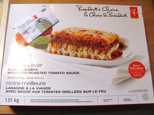 PC Our Best Ever Meat Lasagna With Fire-Roasted Tomato Sauce