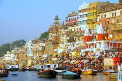 Varanasi & Banks of River Ganga, The Most Ancient City in the World. (Sunciti _ Sundaram's Images + Messages) Tags: city india architecture varanasi 1001nights hindu hinduism discovery ganga ganges benares kasi smorgasbord brightspark blueribbonwinner 5photosaday goldenglobeawards hongkongphotos beautifulexpression distellery abigfave enstantane concordian platinumphoto anawesomeshot colorphotoaward aplusphoto agradephoto flickraward mycameraneverlies concordians colourartaward goldstaraward brilliantphotography spiritofphotgraphy mallimixstaraward elitephotgraphy artofimages planetearthourhome veryimportantphotos lovelylovelyphoto winklerians