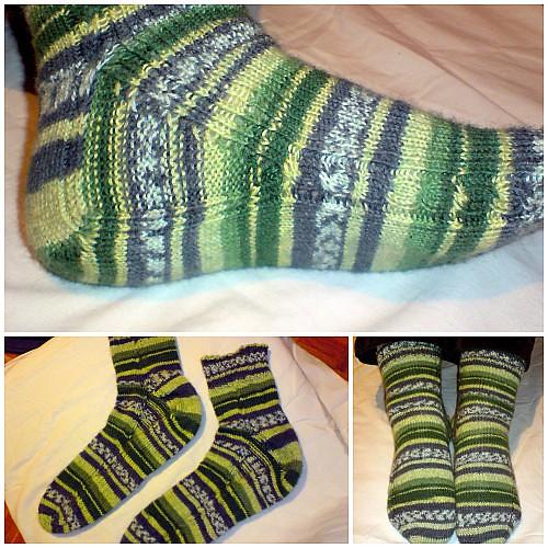 Skarpetki zielone