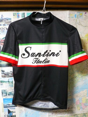 Santini Italy Short Sleeve Jersey