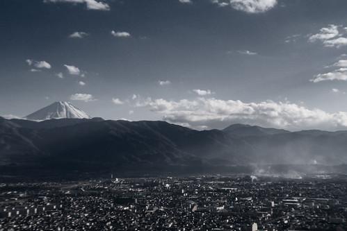 甲府盆地 Kofu