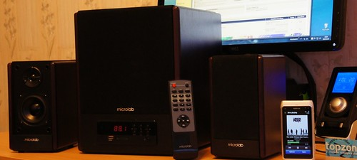 Microlab FC530U 2.1 PC audio sistema + radija ir MP3