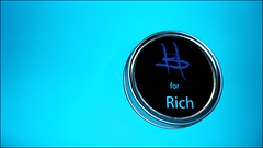 Rich (harp92) Tags: new blue white money black grey sara candles candle rich cyan cover saudi ksa   2011             tabletob  almalki   harp92 saraalmalki 2011