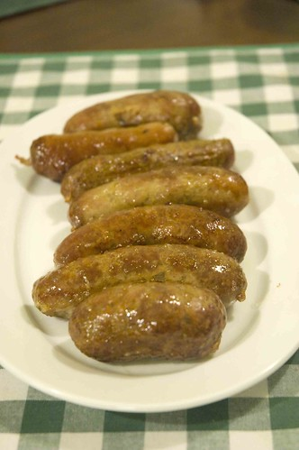 Basic irish Sausages I