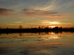 Sunset, Cotswold Water Park