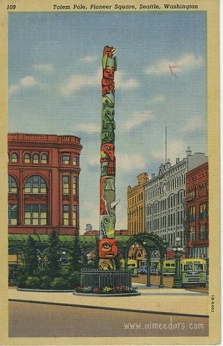 Totem Pole - Seattle