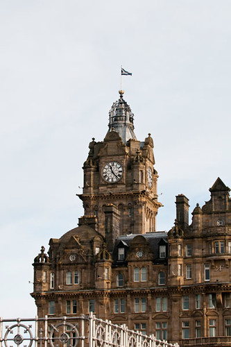Balmoral Hotel, Edinburgh, Scotland
