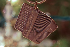 Accordion Keyring Christmas Ornament
