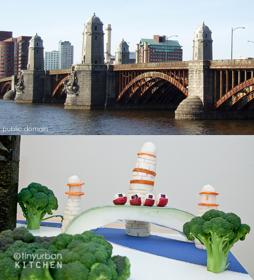 Longfellow Bridge from Vegetables