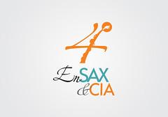 4 Encontro de Saxofones e Cia (Patrik Melo) Tags: design identity marca sax brand saxophone encontro logotipo logotype identidade ensax