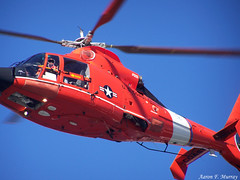 Coast Guard (A. F. Murray) Tags: red sky white america port coast us washington angeles united guard helicopter states heli