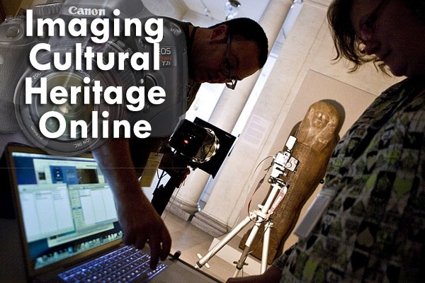 Picturing preservation tech online with Cultural Heritage Imaging