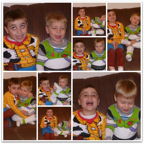 My silly boys during photo shoot