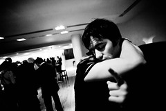 . (Paddy B) Tags: white black embrace threat