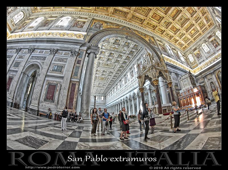 Roma - Basílica de San Pablo extramuros