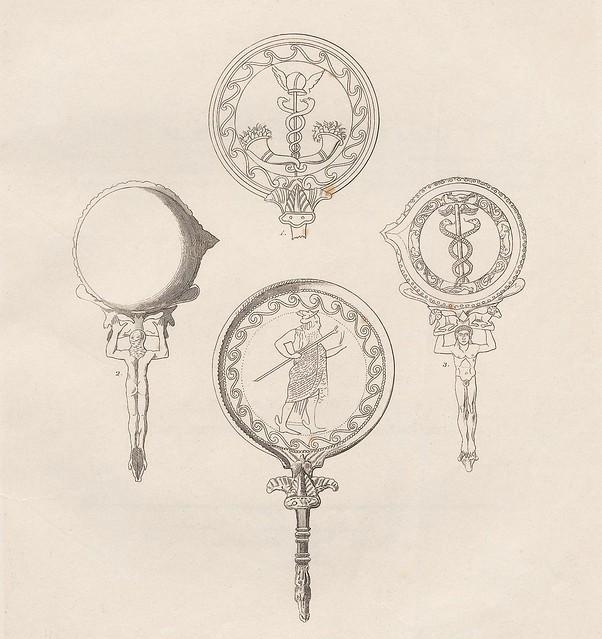 Etruskische Spiegel by Eduard Gerhard, 1840s k