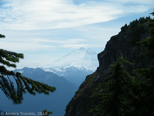 Mt. Baker, as seen from part way up the Winchester Mountain Trail, Mt. Baker-Snoqualmie National Forest, Washington