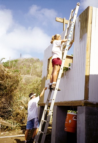 VISIONS Service Adventures, British Virgin Islands, high school community service abroad
