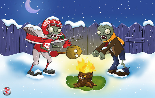 Plants vs. Zombies Wallpaper de Invierno 3