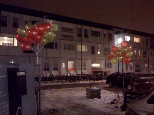 Heliumballonnen Strand West Amsterdam