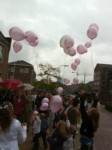 Heliumballonnen Oude Stadhuis Spijkenisse