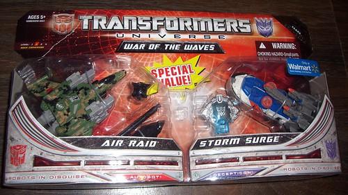 Air Raid / Storm Surge Front