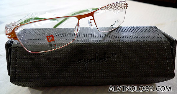 Nanyang Optical's Eyelet spectacles frame