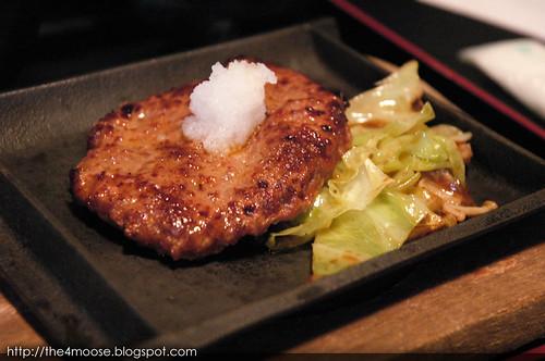近江牛と近江鶏の店 近江や  - Hamburger Steak