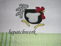 Pano de prato galinha (luartesanato) Tags: galinha pano patchwork prato copa tecido