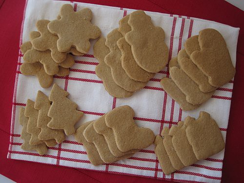 Cut-Out Sugar Cookies - Gluten-Free, Dairy-Free, Refined Sugar-Free