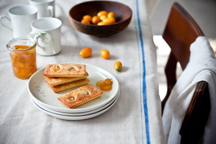 Kumquat & Almond Cakes