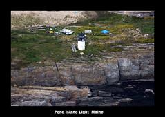 Pond Island (edearmitt) Tags: lighthouse lighthouses photographer lighthouselovers sony maine cameras alpha asony llovemypic