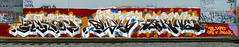 Enron, Dment, Skine (funkandjazz) Tags: california graffiti eastbay hcm dtm nr mdr enron jurne skine dment