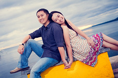 Candice and Ian: A Bohol Engagement Session (weddingpassport) Tags: wedding port pier engagement hands bohol session holdinghands passport baclayon holdhands prenup engagementsession weddingpassport esession balwarte ianuy candicesia