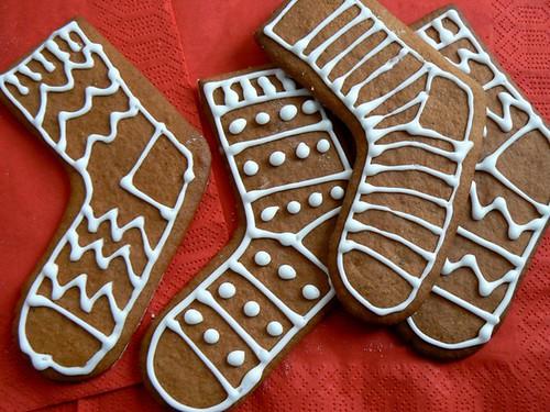 baked socks