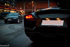 Lamborghini Reventon & Audi RS4 B7 Avant (Lambo8) Tags: horse black matt grey switzerland photo hp nikon noir break power suisse geneva d s 420 mat 650 af nikkor audi ge genve lamborghini nero b7 42 f28 supercar avant v8 matte ch rs4 v12 noire 1520 afd reventon d80 worldcars 650hp 650bhp 420hp 420bhp 420ch 650ch