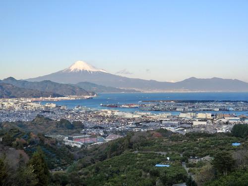 今日は富士山が綺麗に見えました。
