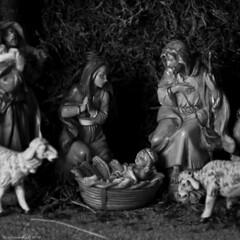 Joy To The World! (raisinsawdust - (aka: tennphoto)) Tags: birthday christmas bw square nikon tennessee jesus christmaseve merrychristmas nativity rejoice babyjesus 2010 jesuschrist thegift d90 godsgift nikond90