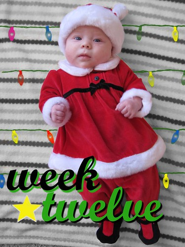 Week 12 (Santa Baby Lucy)