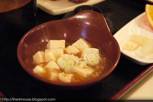 Izakaya Nijumaru 居酒屋二重丸 - Tofu