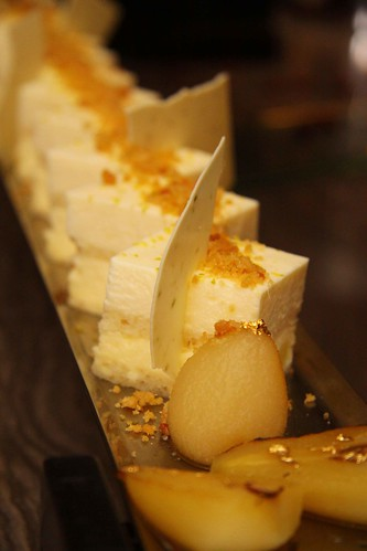 White Chocolate Pear Torte