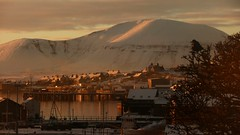 Xmas Day 2010 Stromness (Dennis@Stromness) Tags: christmas xmas uk morning sun snow nature sunrise island scotland orkney britain hoy stromness