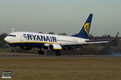 EI-DHY - 33824 - Ryanair - Boeing 737-8AS - Luton - 100201 - Steven Gray - IMG_6684