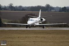 CS-DXF - 560-5586 - Netjets Europe - Cessna 560XL Citation XLS - Luton - 100225 - Steven Gray - IMG_7364