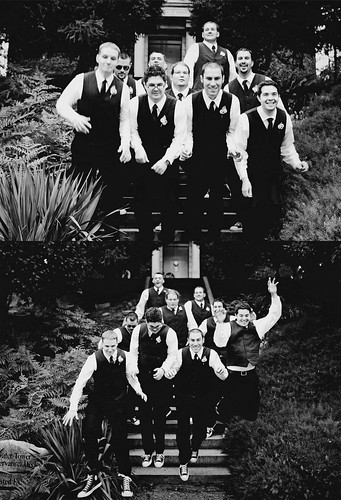 groomsman collage