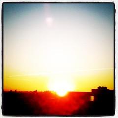 sunrise (初日の出!)