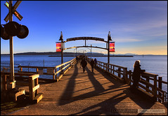 White Rock Pier (Clayton Perry Photoworks) Tags: vancouver pier whiterock hdr
